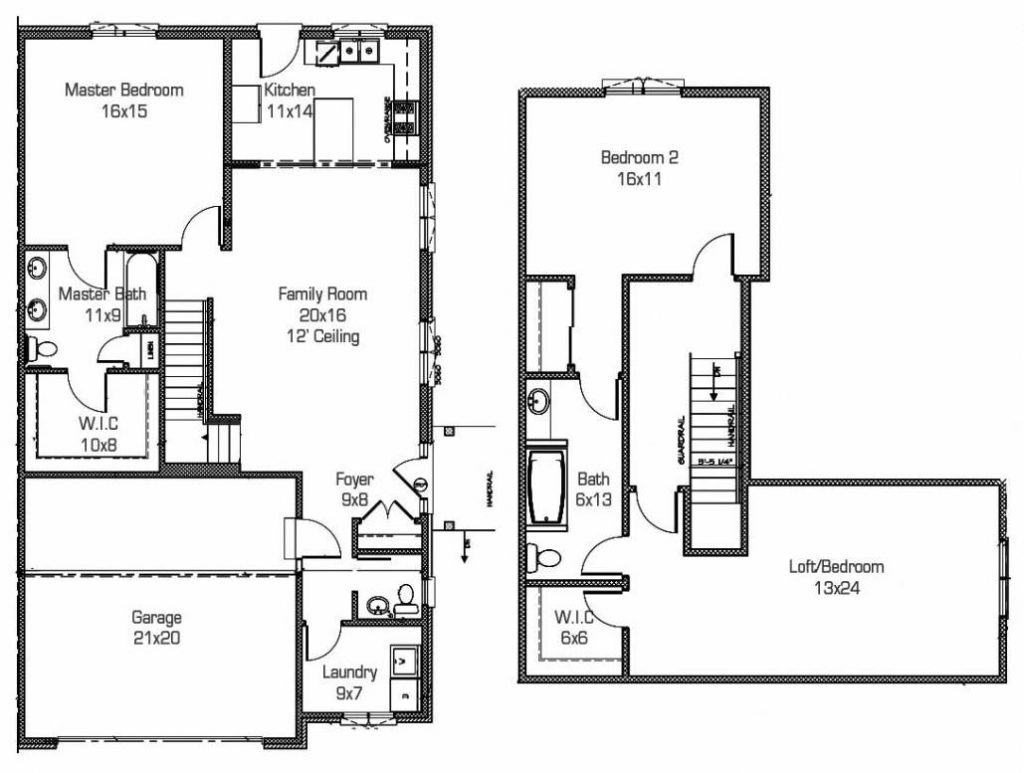 BAILEY-2-Lockport-Townhome-Layout