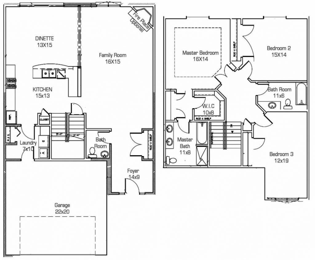 Caitlin-2-Lockport-Townhome-Layout