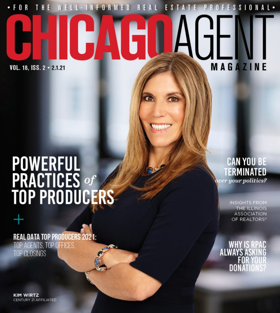 Kim Wirtz Featured In Chicago Agent Magazine
